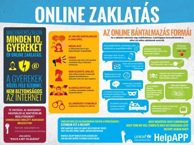 online zaklatas_plakat