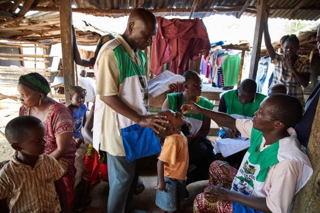 UNICEF | Sierra Leone | Mass Mosquito Net Distribution