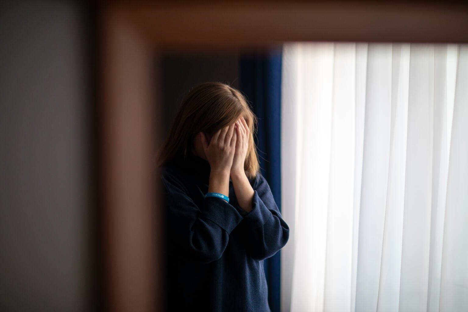 unicef mentális egészség kamasz lány